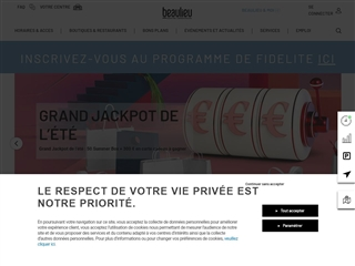 Centre commercial Nantes Beaulieu