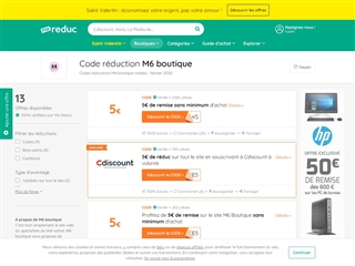 Ma-reduc.com : M6 Boutique