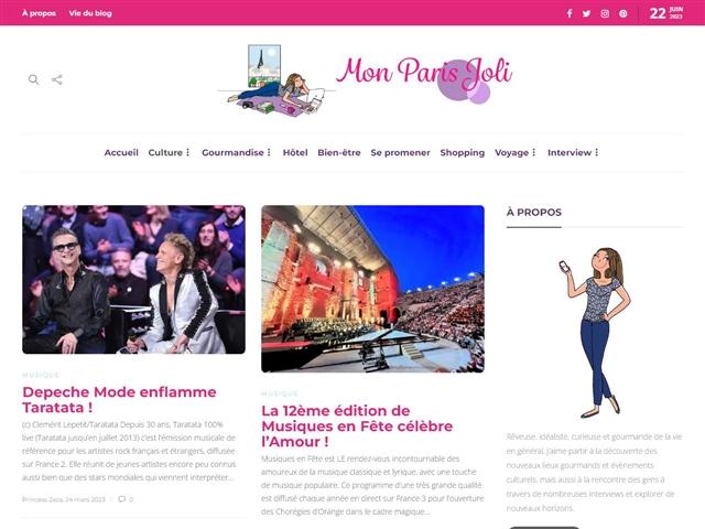 Mon Paris Joli : Musique