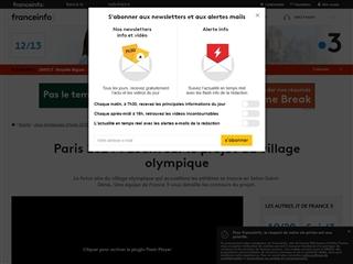 France info sports : zoom sur le village olympique