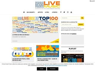 Ricard Live Music Blog