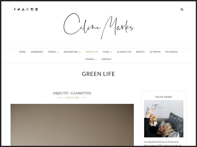 Céline Marks : Green Life