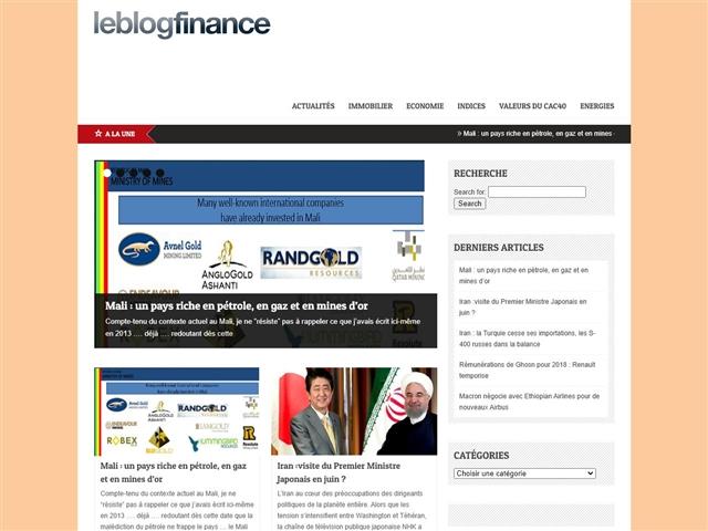 Le Blog Finance