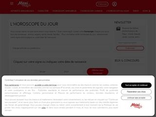 Maxi Mag : Horoscopes