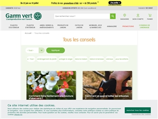 Gammvert : Conseils de jardinage