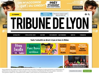 Tribune de Lyon