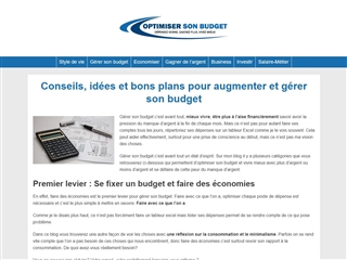 Optimiser son budget