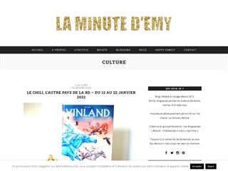 La minute d'Emy : Culture