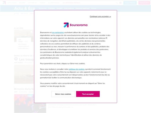 Boursorama : Actualité internationale
