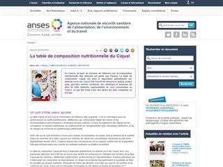 table de composition des aliments nubel pdf