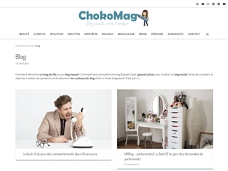 Choko Mag : Blog