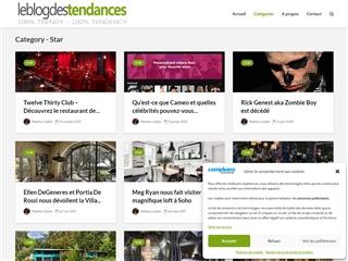 Le Blog des Tendances : Star