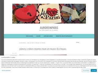 Aurore in Paris : Sur le Petit Ecran in Paris