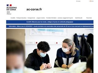 Académie de Corse
