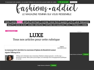fashions * addict : Luxe