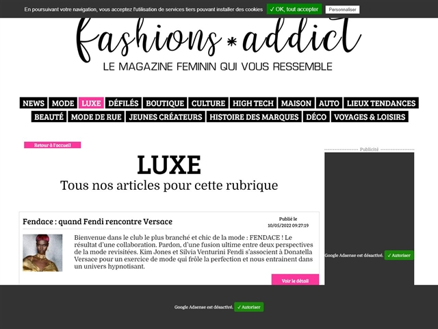 Fashions*Addict : Luxe