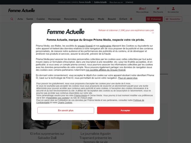 Femme Actuelle : People
