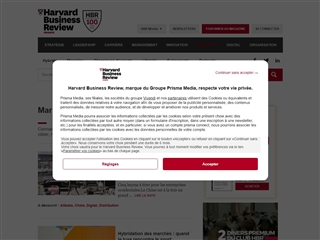 Harvard Business Review France : Marketing