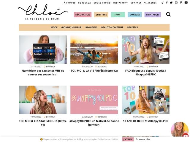 La Penderie de Chloé : Blogging