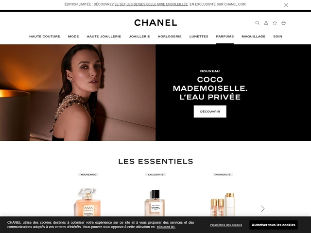 Chanel : Parfums
