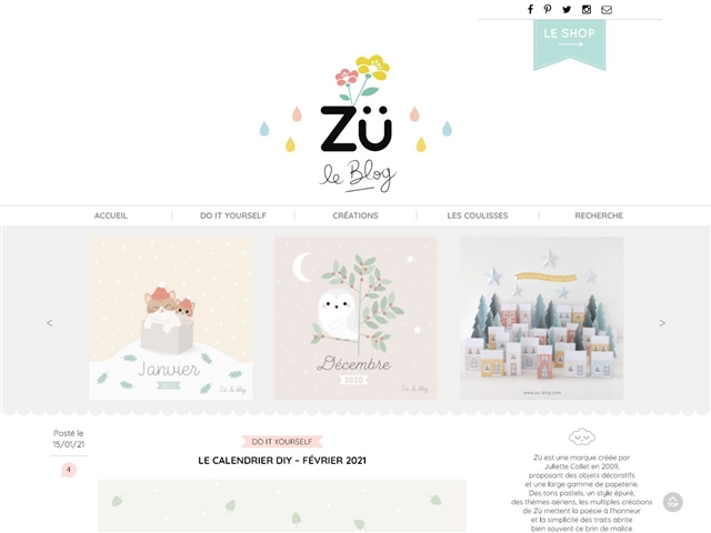 Zü : Le Blog