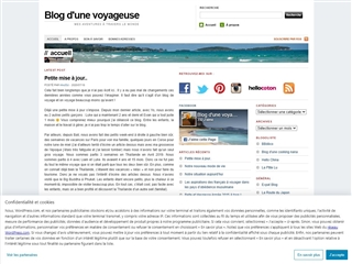 Blog d'une voyageuse