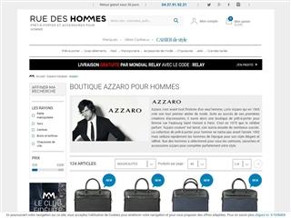 Rue des Hommes : Azzaro