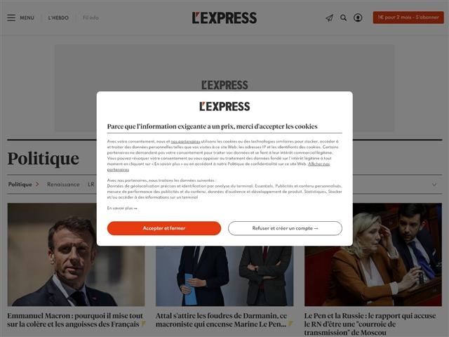 L'Express : Politique