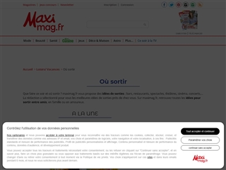 Maxi Mag : Où Sortir