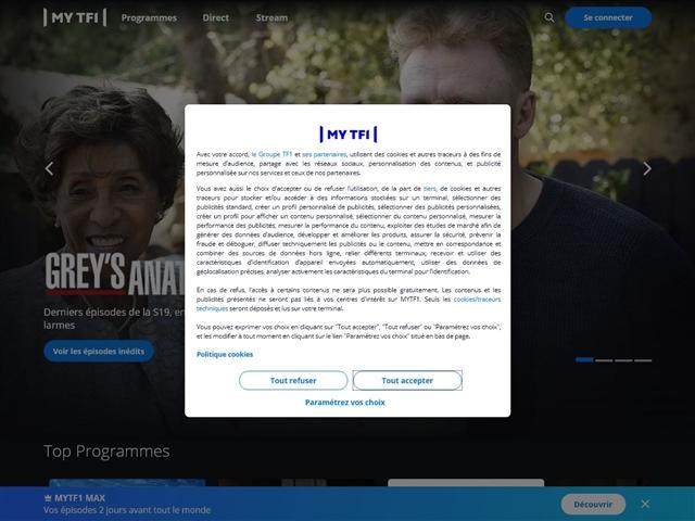 MY TF1 VOD