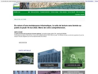 Meuse (55) - Archives départementales