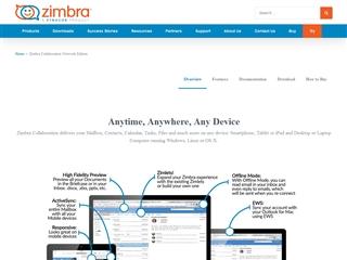 Zimbra : Collaboration