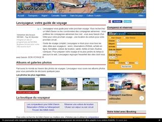 Le Voyageur - Le guide de vos voyages