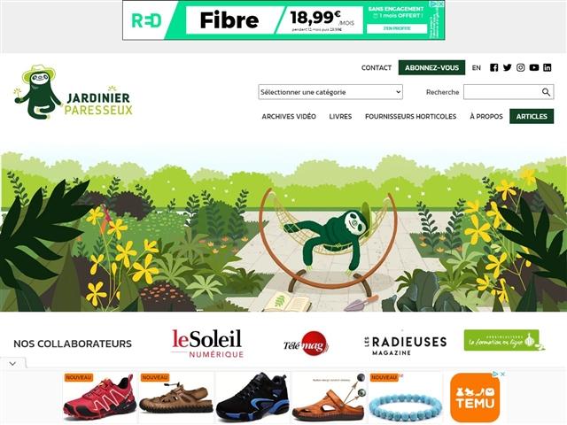 Jardinier Paresseux
