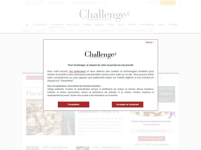 Challenges : Impôts