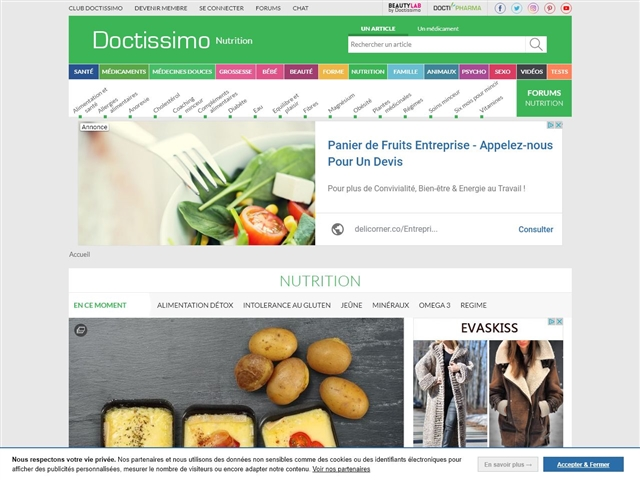 Doctissimo : Nutrition