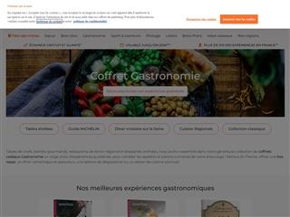 Smartbox : Coffrets Cadeaux Gastronomie