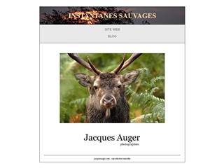 Instantanés sauvages : Jacques Auger