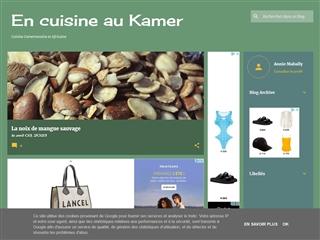 En cuisine au Kamer (Cameroun)