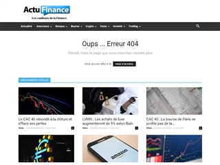 Actu Finance : Lexique Financier