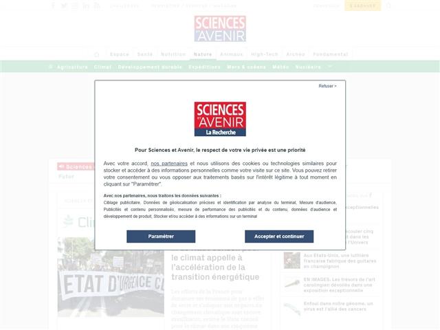 Sciences et Avenir : Climat