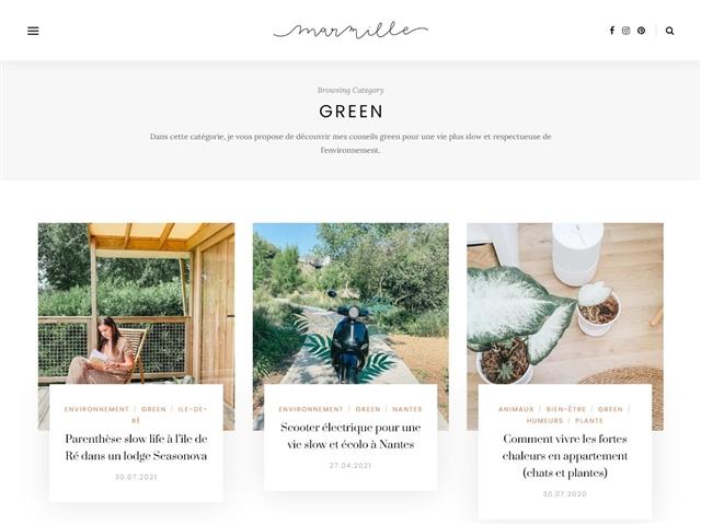 Marmille : Green