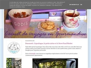Carnets de voyage et Gourmandise