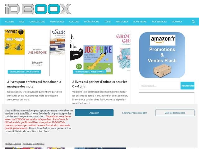 IDBOOX : Applis Kids