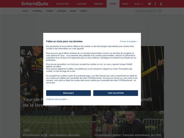 L'Internaute : Sport
