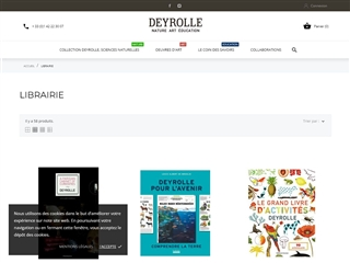Deyrolle  la boutique