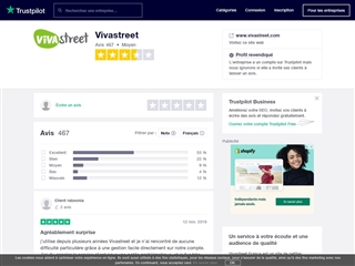 Trustpilot : Vivastreet