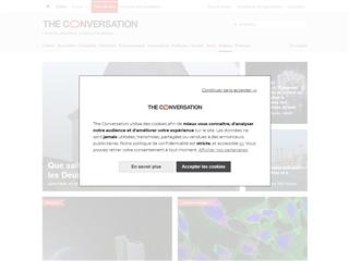 The Conversation : Sciences