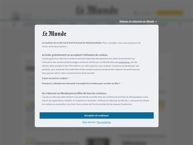 Le Monde : Education