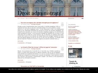 Le blog Droit Administratif